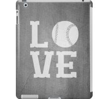 Baseball Love 2 iPad Case/Skin
