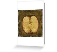 Apple Halved Greeting Card
