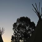 Teepee Sunset by Matt Simner
