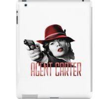 Agent Carter - Red iPad Case/Skin