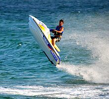 Jet Ski Fun - Swansea Channel NSW by Bev Woodman