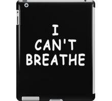 I Can't Breathe T Shirt (Derrick Rose ) iPad Case/Skin