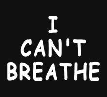 I Can't Breathe T Shirt (Derrick Rose ) by Iva Ivanova