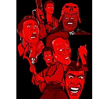 multiple Ash evil dead army of darkness collage Photographic Print