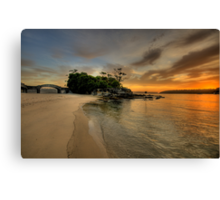 Balmoral Dreaming - Balmoral Beach - The HDR Series Canvas Print