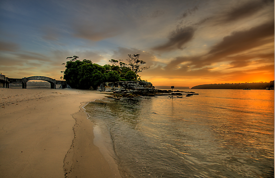 Balmoral Dreaming - Balmoral Beach - The HDR Series by Philip Johnson