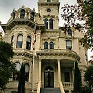Historic California Governor's Mansion by Barbara  Brown