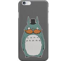 Dapper Totoro iPhone Case/Skin