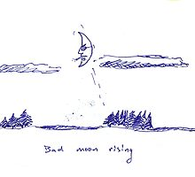 Bad moon rising by pAgEdOwN