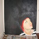 Orb on my painting by jaycee