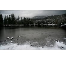 Meet me at the Lakeside Photographic Print