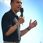 Barrack Obama in Hawaii by Greg Kolio Taylor