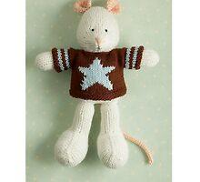 melville birthday by bunnyknitter