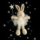 christmas angel bunny by bunnyknitter