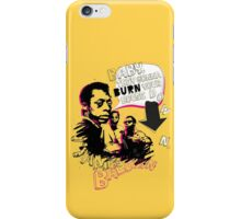 New James Baldwin (now with more 'tude) iPhone Case/Skin