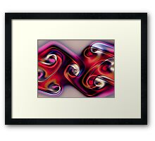 Gnarlly Ties Framed Print