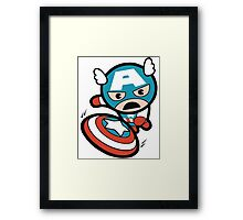 Captain A. Framed Print