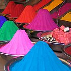 The colorful markets of India by Nadine Incoll