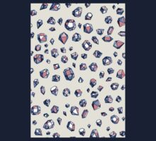 Navy & Coral Crystals Kids Clothes