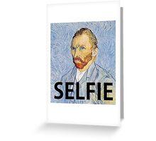 Van Gogh Selfie Greeting Card