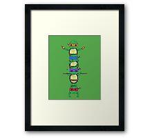 Ninja Turtle Framed Print