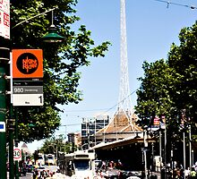 Swanston Street Taxi Rank by A boy called Star