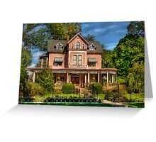 The Biggest Dollhouse Greeting Card