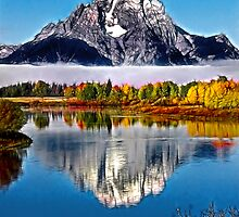 Mount Moran by David Lampkins