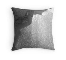 Aqua Dreaming Throw Pillow