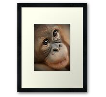 Eyes That Melt Framed Print