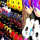 Summer Festival Masks Japan by shonanthebeach