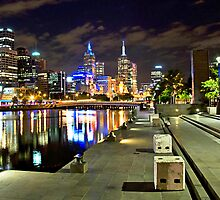 Melbourne Skyline by Darren Greenwell