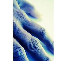 The Blue Hand Photographic Print