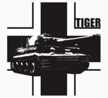 tiger tank by hottehue