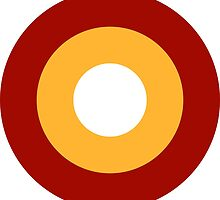 Roundel of the Qatar Emiri Air Force  by abbeyz71