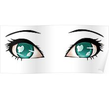 Stylized eyes 5 Poster