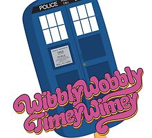 Wibbly Wobbly Timey Wimey Pop by marv42
