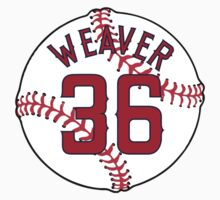 Jered Weaver Baseball Design by canossagraphics