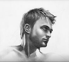 Daniel Radcliffe - detail  by David J. Vanderpool