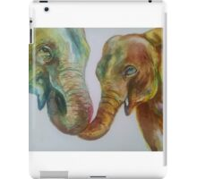 Yellophant and Mum iPad Case/Skin