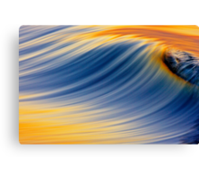Dawn Wave Breaking Canvas Print