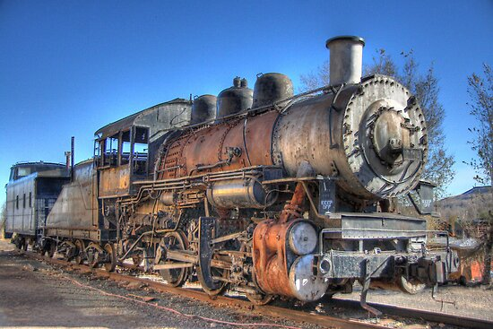 Old Steam Train by Kasey Cline
