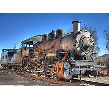 Old Steam Train Photographic Print