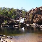 Top Falls, Edith River Escarpment, N.T. Australia. by Rita Blom