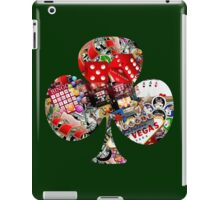 Club - Las Vegas Playing Card Shape  iPad Case/Skin