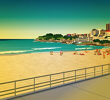 bondi beach by Lara Allport
