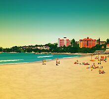 Manly Beach by Lara Allport