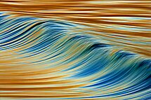 Abstract Wave by David Orias