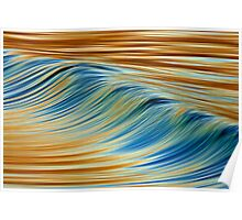Abstract Wave Poster