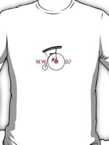 What Would Number Six Do? (light) T-Shirt